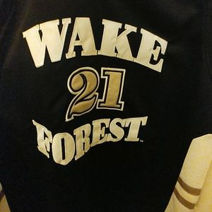 70dbfd5f199 Hardwood Legends By Headmaster Campuswear Other - Tim Duncan College Wake  Forest Jersey Size 3XL